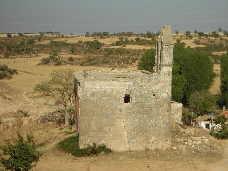 Ruinas en Villaescusa