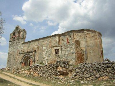羊毛Camino de Santiago的路径