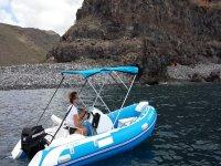 Embarcacion en La Gomera