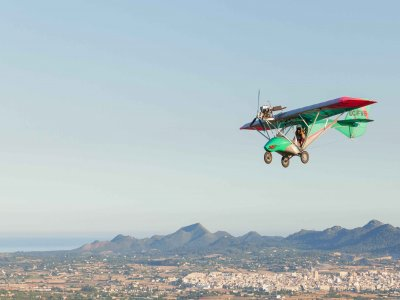 2 ultralight flights in Mallorca 30 minutes