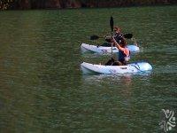 Competiciones en kayak.