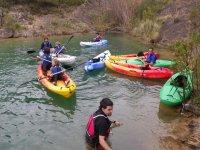 clase para la practica de kayak