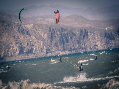 莫特里尔的风筝冲浪设备租赁半天