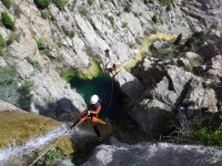 The Lucena del Cid ravine is perfect for rappelling.