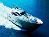 通过在水中高速双体船