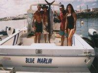 En el Blue Marlin