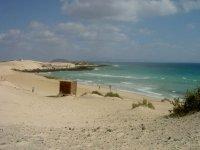 一个原始的拍摄路线平行海滩