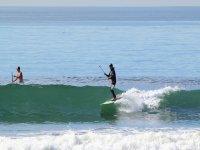 Dominando olas