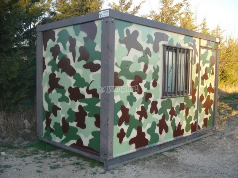 Camouflaged HQ