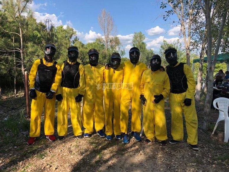 Soldados de amarillo