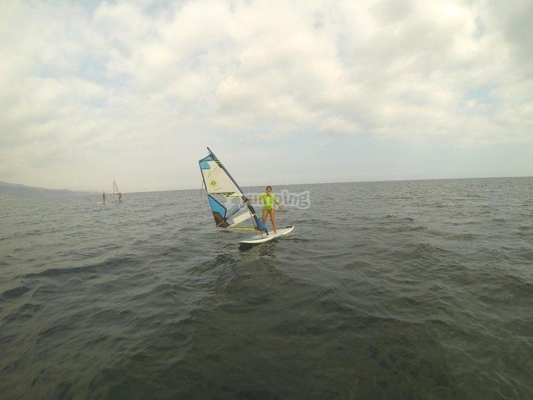 做风帆冲浪