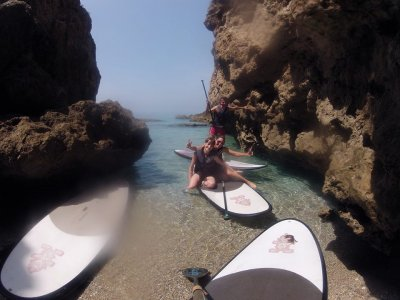 Alquiler de material para Paddle Surf en Nerja 1h