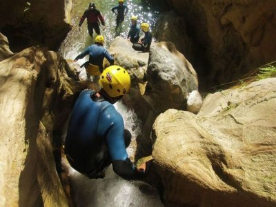 Canyoning in Río Lentegí - 4 hours