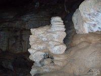 Interior de la cueva.