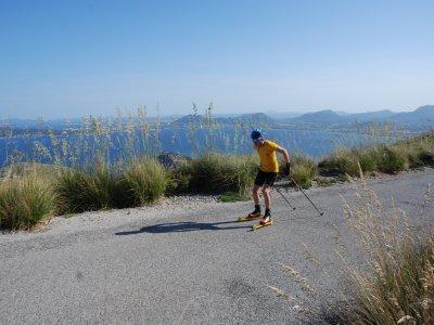 在rollerki的Puerto de Pollensa的引导路线