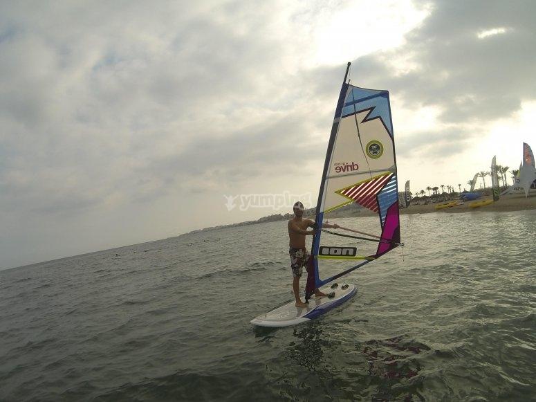 Diversion con windsurf