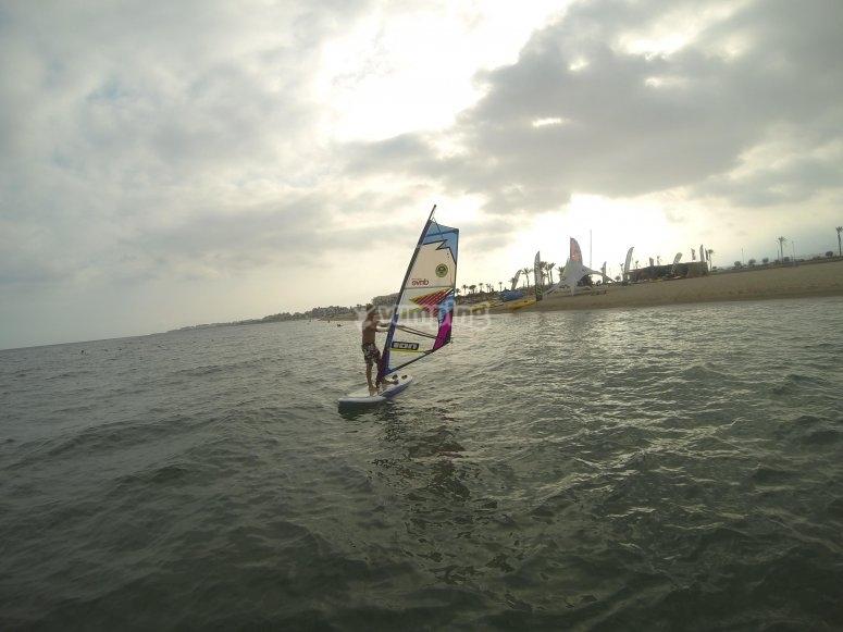 No dejes de hacer windsurf