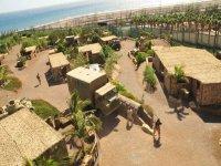 Vista de los escenarios en Gran Canaria