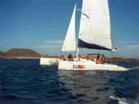 Navegacion en catamaran