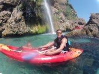 Alquiler de kayak en Nerja durante 5 horas