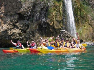 Alquiler de kayaks en Nerja durante dos horas