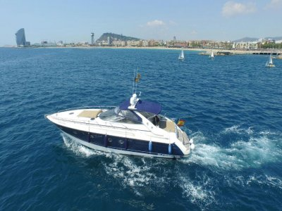 Rent a yacht for 2 hours, Barcelona