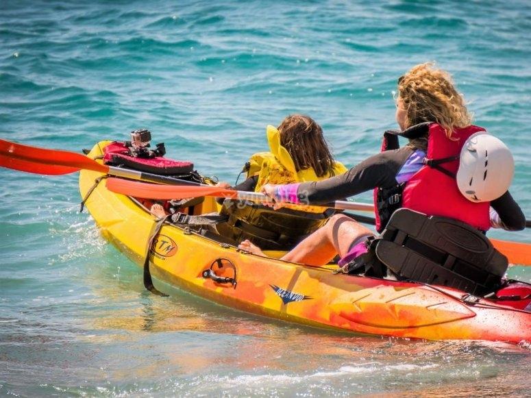 Recorrido en kayak en La Herradura
