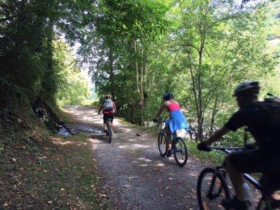 Ruta guiada en bicicleta en Valle de Arán un día