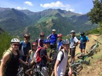 Bicycle route across mountains Roda, 4 days