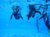 Prácticas de buceo en aguas confinadas