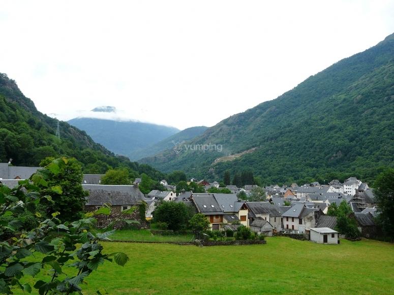 Walking around the valley