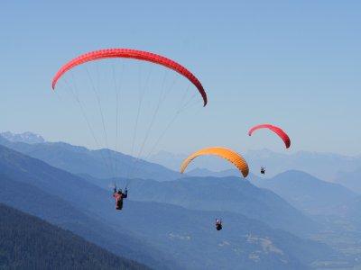 滑翔伞改进课程有20个航班