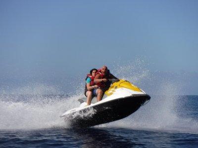 Ruta en moto de agua a Los Gigantes en Tenerife