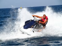 Ruta moto de agua individual sur de Tenerife 40min