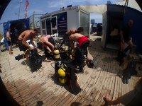 diving center in barcelona beach