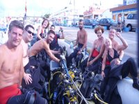 Diving day in Costa Brava