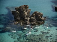 Ruta de paddle surf en Menorca