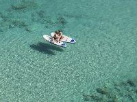 Romántica ruta de SUP por el Mediterráneo menorquín