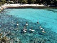 ruta por las playas menorquinas