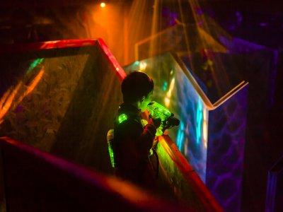 Partida de laser tag en Castelldefels 15 minutos