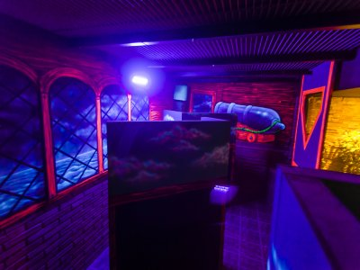 Laser tag Barcelona 2 partidas y taller de pizza