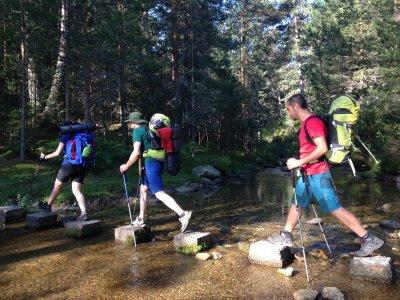 Trekking nella comunità di Madrid la domenica
