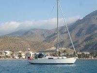 By boat in La Manga del Mar Menor