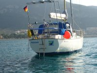 One day by boat in La Manga