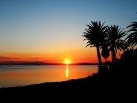 The sunsets of La Manga