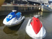 Our beautiful jet skis