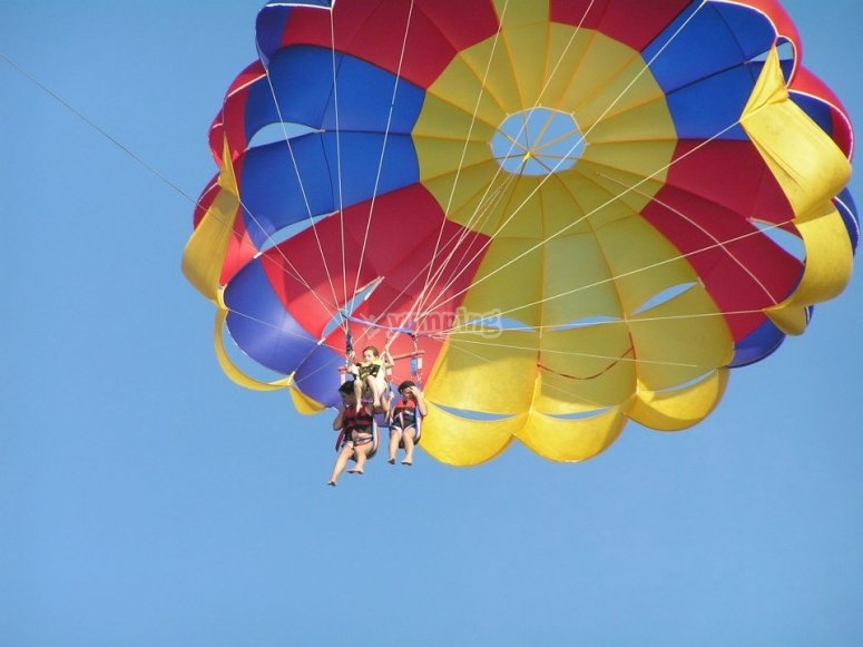 Parascending for the whole family