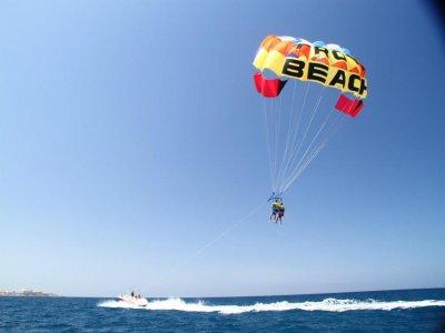 Vuelo en parascending en Tenerife de 10 minutos