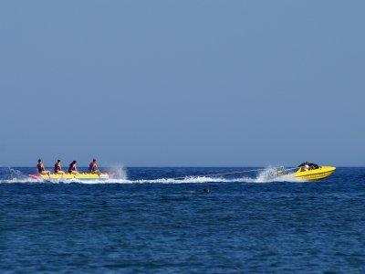 在特内里费岛香蕉冒险20分钟