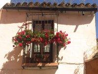 Floral balconies